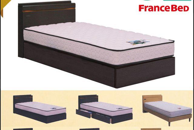 【フランスベッド】リバート いろいろ選べる!シンプルデザインベッドフレーム