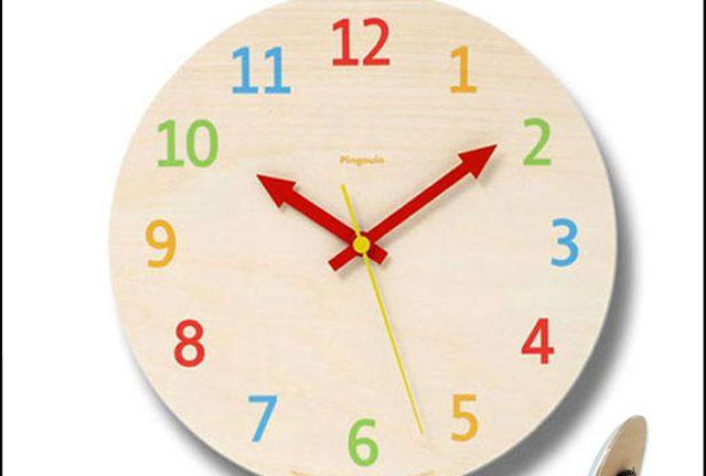 【Lemnos】palette パレット スタンド付きデザイン時計