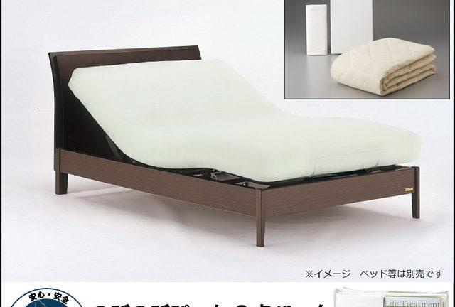 〖フランスベッド〗のびのびぴった3点セット リクライニングベッドに最適な寝装品!