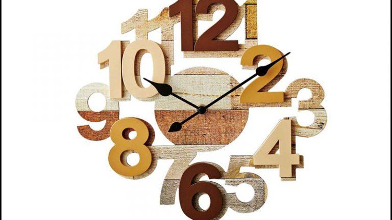 【INTERFORM】オリヴァ 立体壁掛け時計