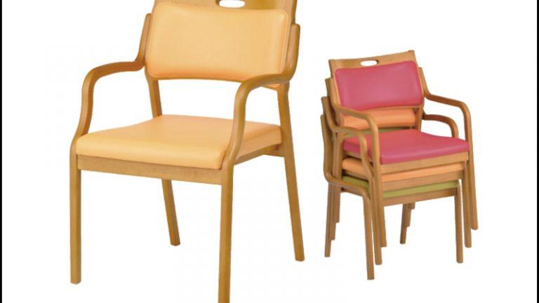 【貞刈椅子】ケアAC102 超軽量タイプ介護用・高齢者用チェア