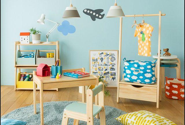 【大和屋】ノスタ 子供にだって自分の家具を!子供用 キッズデスク