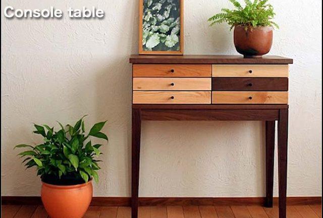【レグナテック】スピッコ 何気ない空間を華やかに変えてしまうコンソールテーブル