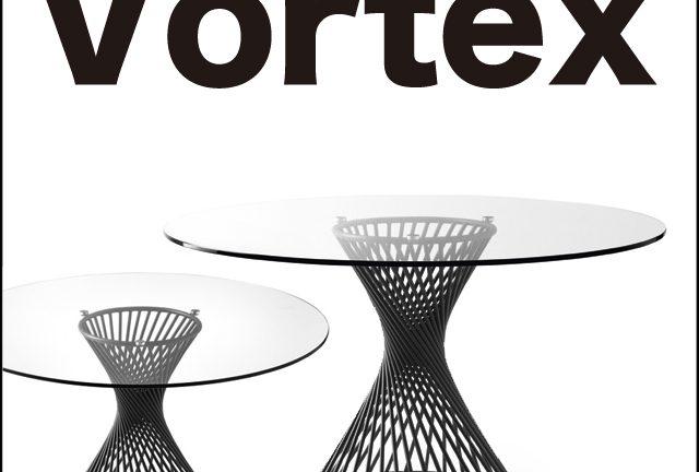 【Calligaris(カリガリス)】Vortex ガラス ダイニングテーブル