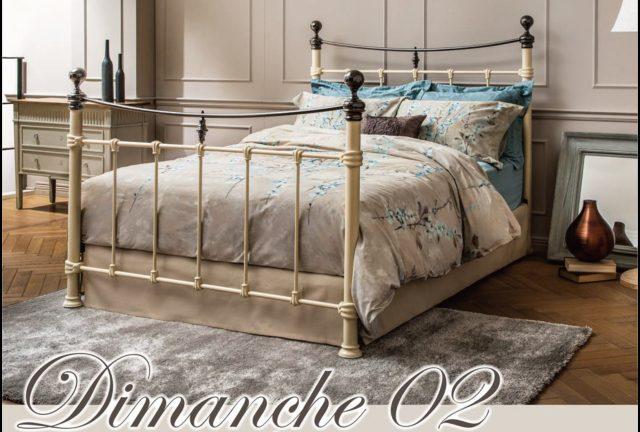 【フランスベッド】ディマンシュ02 エレガントなパイプベッドフレーム