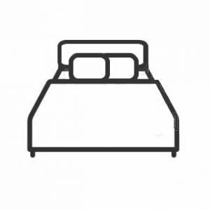 ベッドセット(フレーム&マットレス)