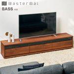 【アカセ木工】MASTERWAL(マスターウォール)『BASS』 無垢TVボード