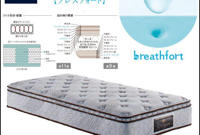 【サータbyドリームベッド】サータライトブリーズ 5.8 BOX-T