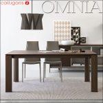 【Calligaris(カリガリス)】OMNIA ウッド ダイニングテーブル