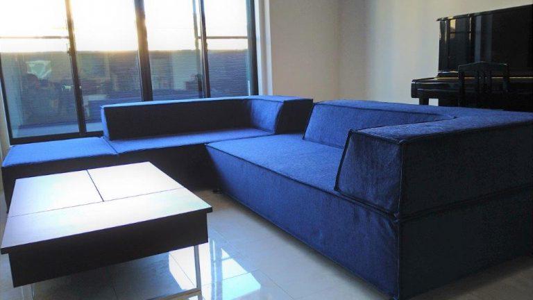 Esticのソファをお届けしました