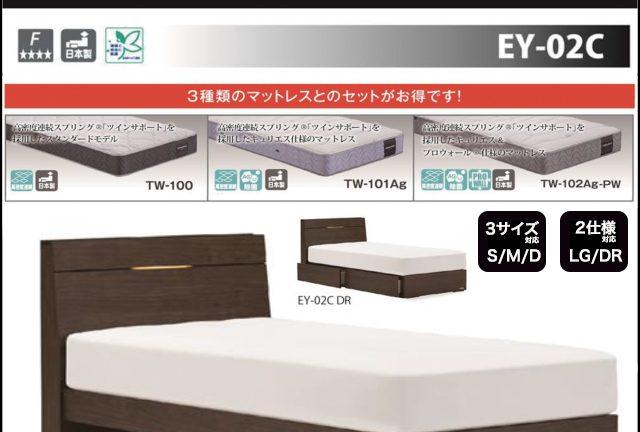 〖フランスベッド〗エディ EY-02C マットレスとのセットで買うとお買い得!