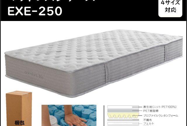 〖KINSHIDO〗EXE-250 搬入ラクラクマットレス